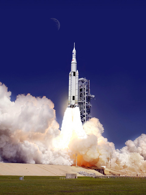 Artist Concept: SLS 70-Metric-Ton Configuration (NASA ...