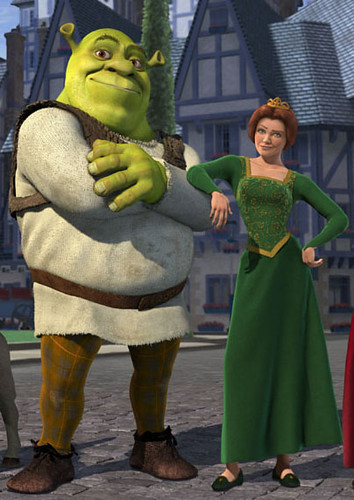 Shrek & Fiona - Inspiration