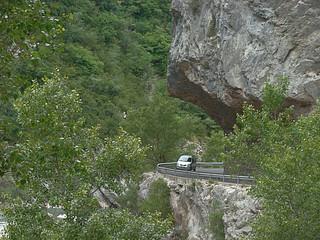 48 onderweg van Castelane naar Trigance