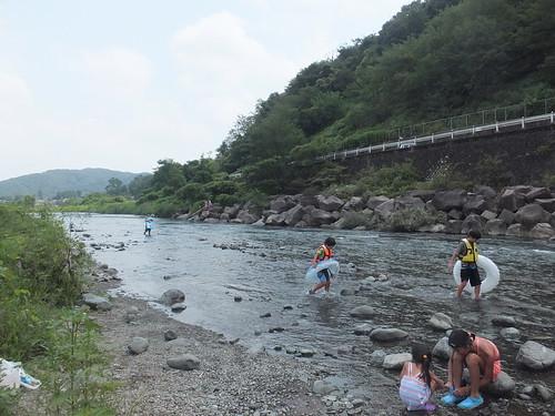 中津川(田代運動公園)