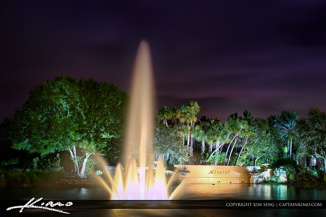 Mirasol water fountain at palm beach gardens flickr photo sharing for The fountains palm beach gardens