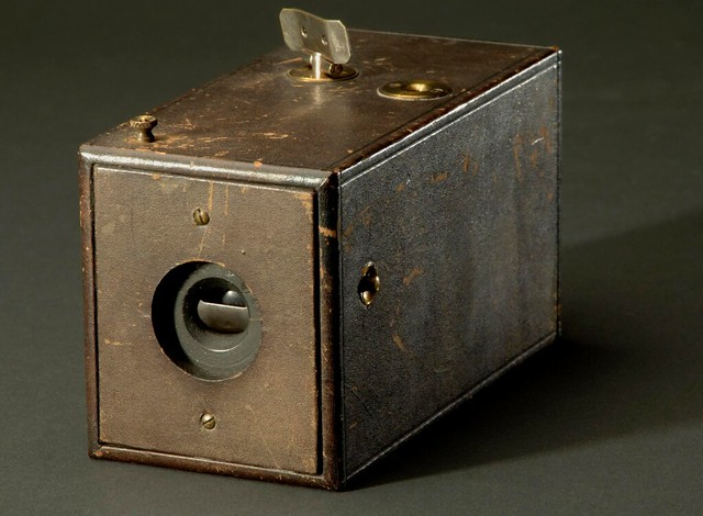 Original Kodak Camera, Serial No. 540