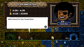Spelunky on PS Vita