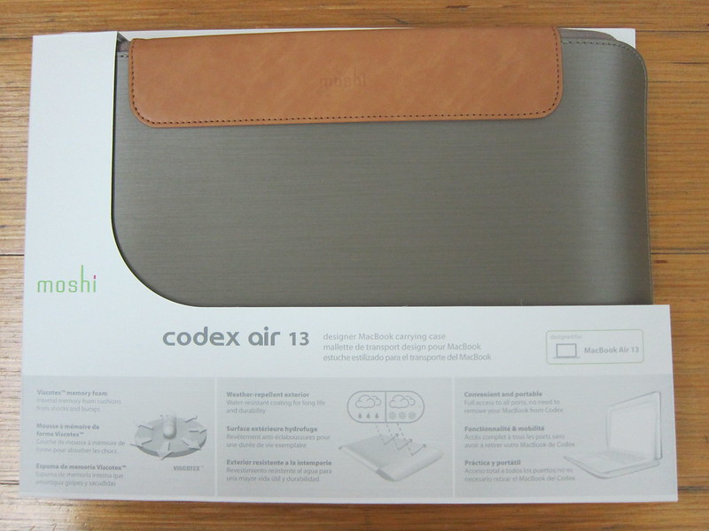 Moshi Codex Air 13 - Packaging Front