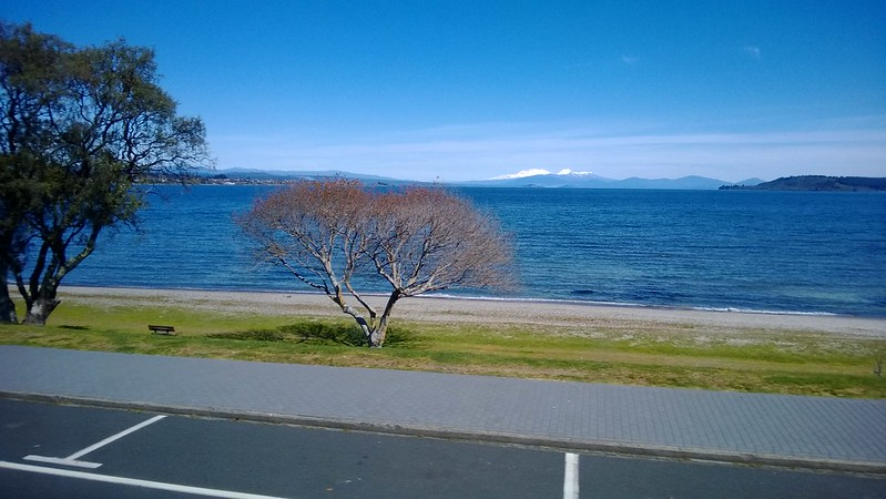 Lake Taupo and the Volcanoes