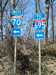 Interstate 70 Park and Ride, March 10, 2012