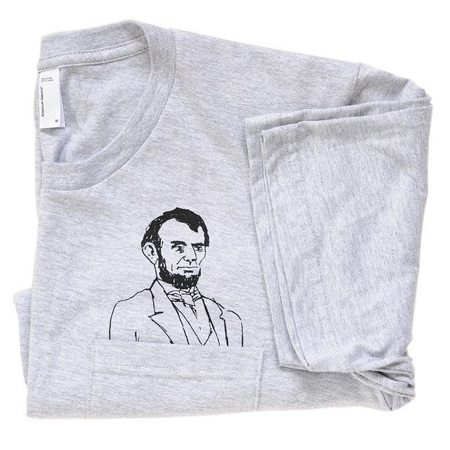 mens pocket abe tee