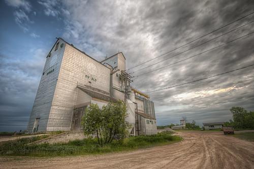 abandoned clouds elevator springfield hdr grainelevator dugald nikkor1024mm morrismulvey