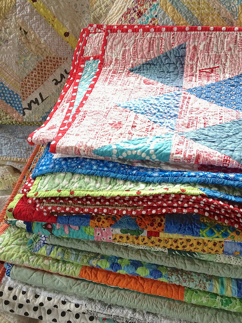 Quilting Happiness Story: Recovery, Life Skills, and Finished Quilts