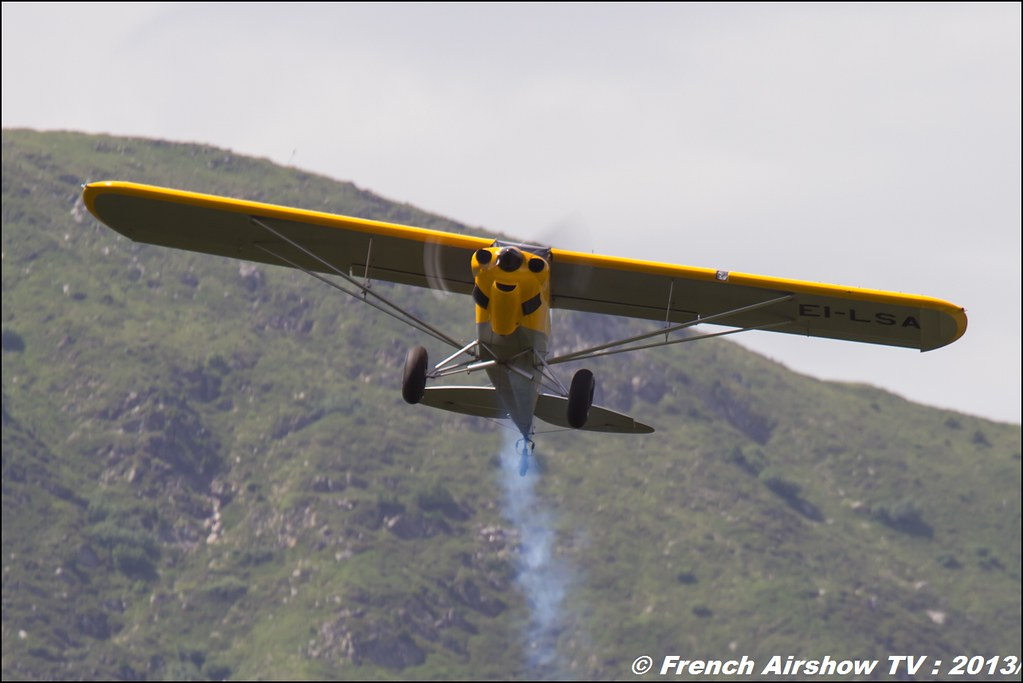 Carbon Cub SS EI-LSA, Meribel Air Show 2013