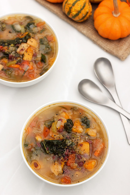 Fall Detox Soup - Gluten-free + Vegan