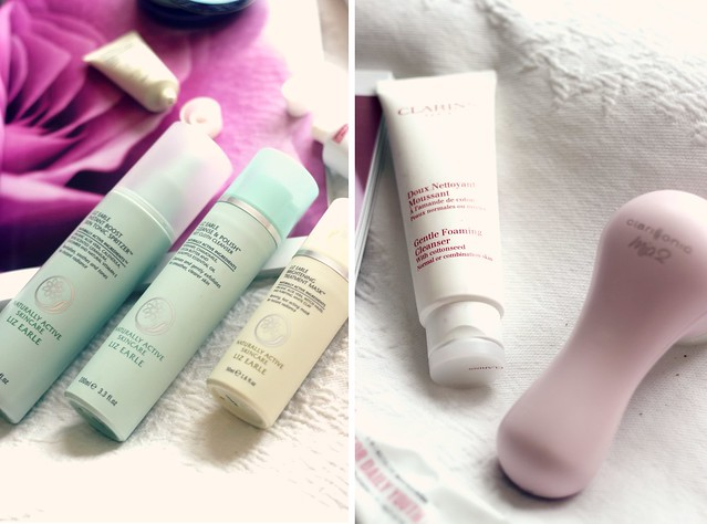 Liz Earle Products Clarins Clarisonic