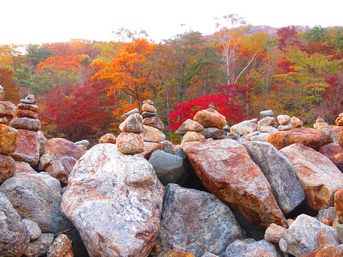Rock Piles on Jirisan