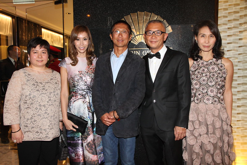 Maisy Ho, Mira and V-Nee Yeh, Simon and Daisy Ho at MOHKG Gala Oct 17.JPG