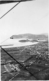 Flere fly fotografert fra luften (1925)