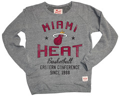 Miami Heat Regatta Butler Sweatshirt - Gray