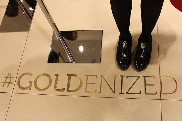Patrizia Pepe Goldenized Event Berlin lisforlois