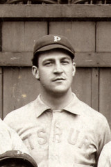 Emerson 'Pink' Hawley with Pittsburgh in 1896.
