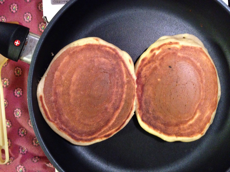 Cornmeal Sourdough Pancake
