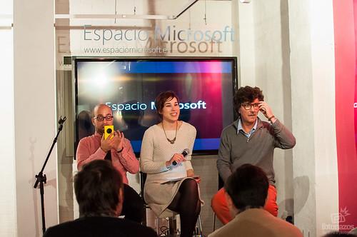 Charlas en el #EspacioMicrosoft Fotografía Analógica VS Digital