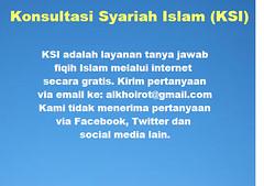 Konsultasi Syariah Islam 1
