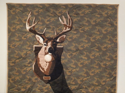 Elk Head by Luke Haynes (2008)