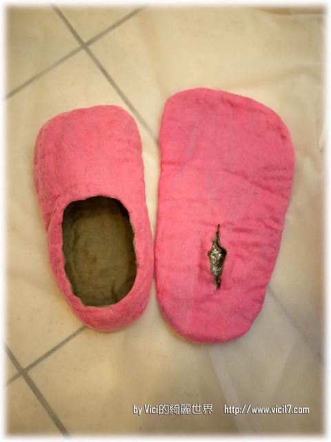 1217羊毛氈室內鞋049