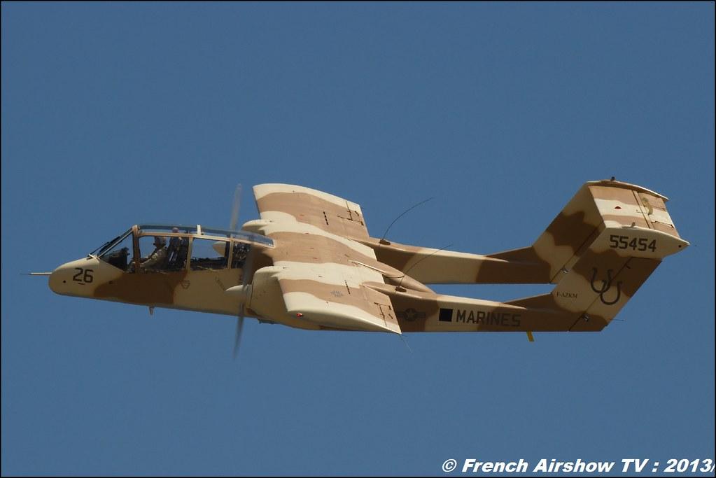 OV-10 Bronco montelimar au Free Flight World Masters Valence 2013 ,bleu ciel airshow 2013,