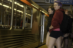 No Pants Subway Ride 9