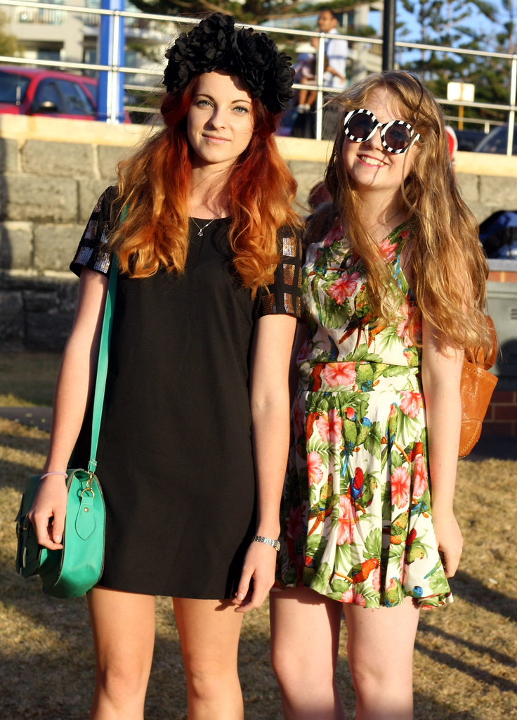Street Style at Polka Dot Vintage Markets, Scarborough