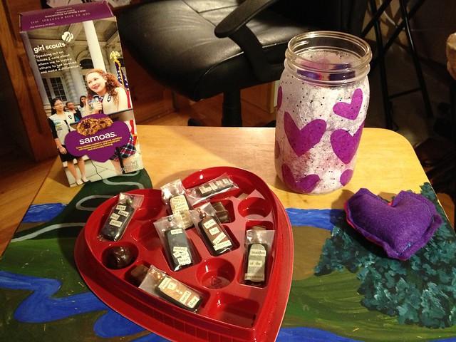Katie's Valentine's Day gifts