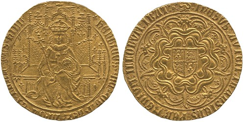 A Hammered Henry VII Sovereign