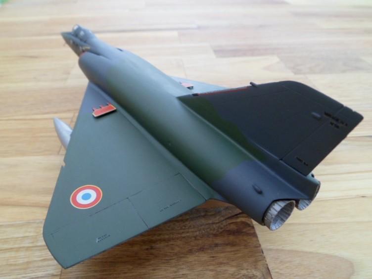Numéro 56 [Heller Dassault Mirage IV A - 1/72] 12890257275_5517be0b7c_b