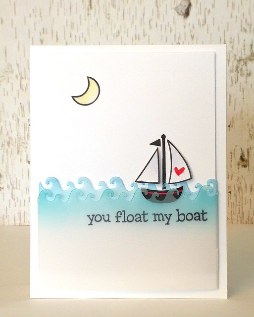 you float my boat card (CAS) - ls