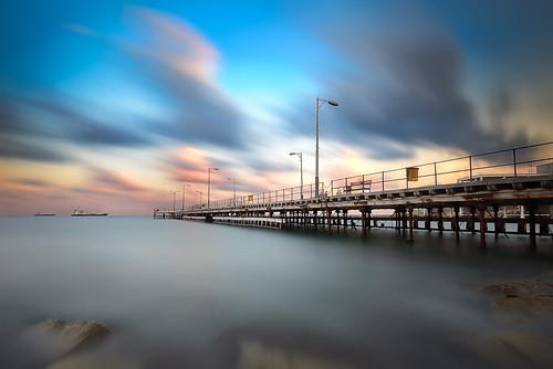 longexposure sunset clouds cyprus d800 limassol 1635mm limassolpier charlescharalambous copyrightcharlescharalambousallrightsreserved limassolbay