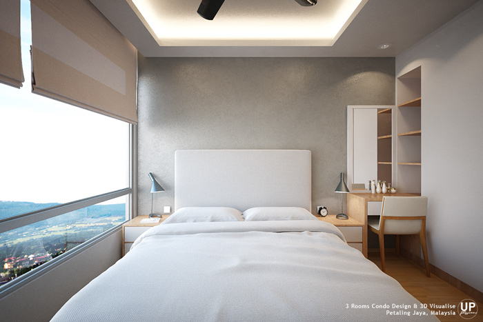 Residential_minimalist interior design idea_3 Rooms Condominium_Bedroom_Petaling jaya_Malaysia_05