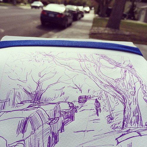 #urbansketching today