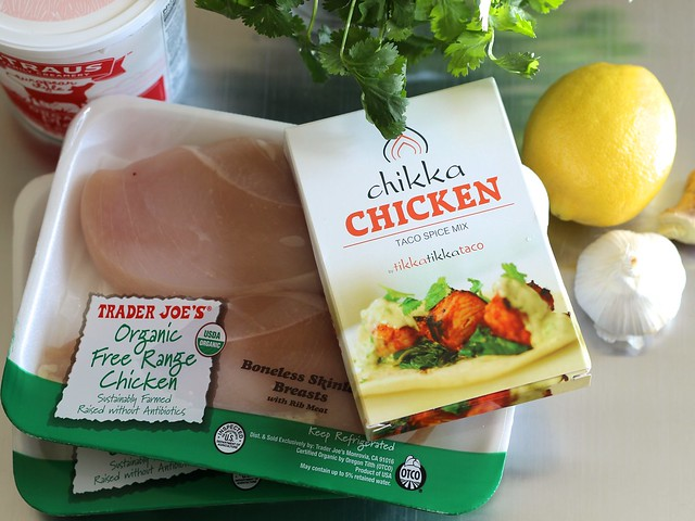 Ingredients - Tikka Tikka Tacos (Gluten-free)