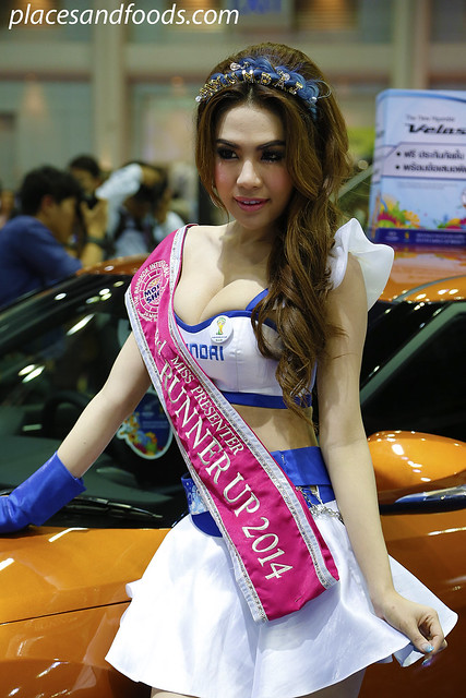 bangkok international motorshow hyundai girl 2