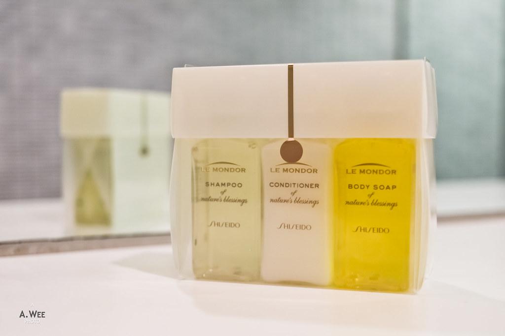 Shiseido bath amenity