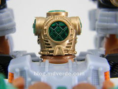 Transformers Undertow con Waterlog Power Core Combiners - modo combinado