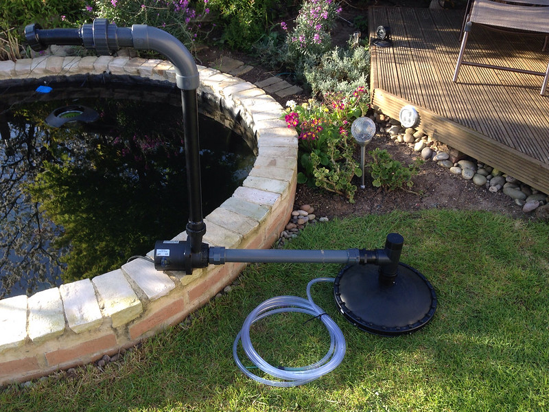 Pump advice pond equipment forum pond life for Koi pond drain