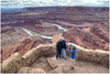 Photographer and Hikers at Dead Horse Point, Utah, USA