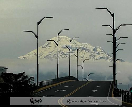 Chimborazo desde la carretera