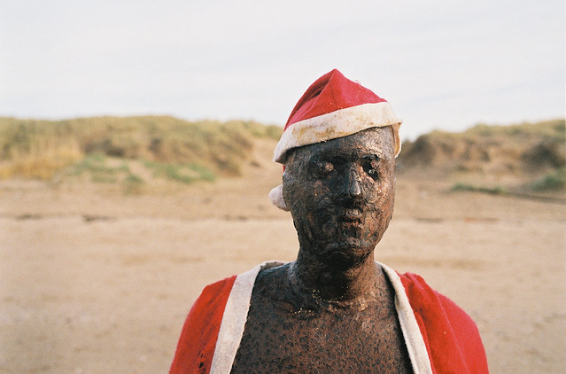 Christmas on Crosby Beach