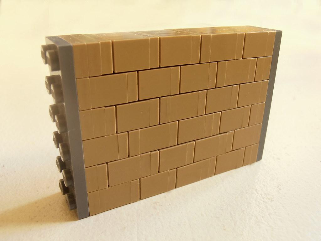 wall technique no. 11 (custom built Lego model)
