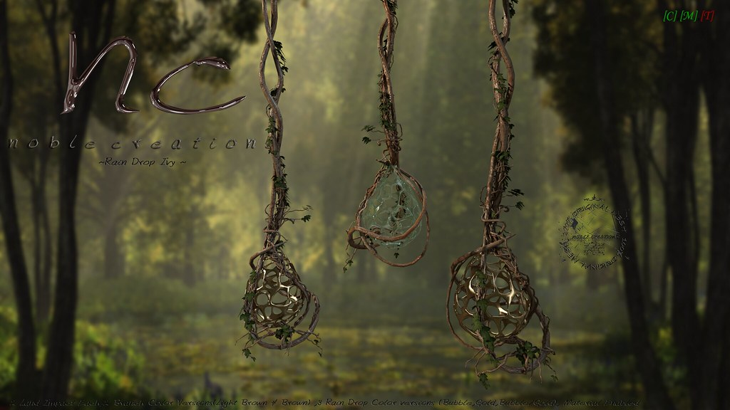[NC] - Rain Drop Ivy - TLC 1outof2 - SecondLifeHub.com