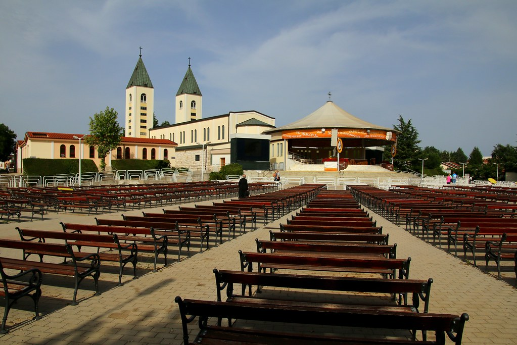 Happy Sunday ! / The Church In Međugorje Or Medjugorje, Bo