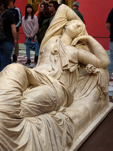 Sleeping Ariadne @ Uffizi Gallery