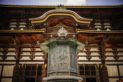 Main hall of Todai-ji Temple in Nara, Japan